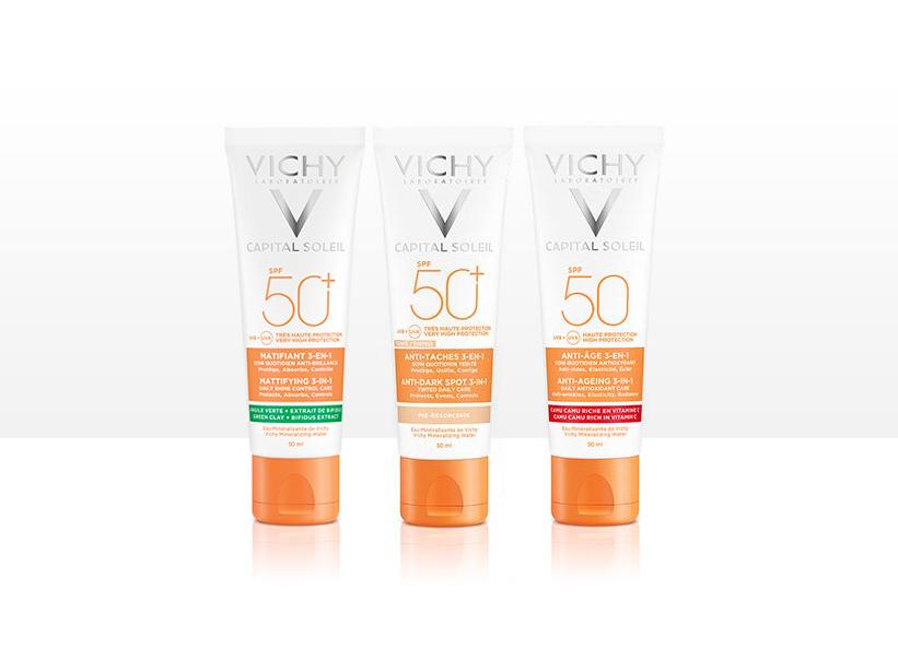 Creme solari viso Vichy